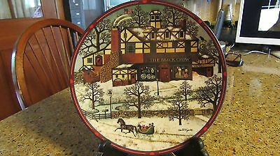 "Charles Wysocki Plate ""Antique Shoppe"" Peppercricket Grove Limited Edition"