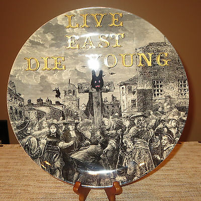 Royal Doulton Pure Evil In The Pillory-Live East Die Young Limited Ed Plate-#345