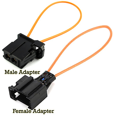 MOST fiber optic loop bypass MALE & FEMALE kit adapter for BMW VW Audi Mercedes