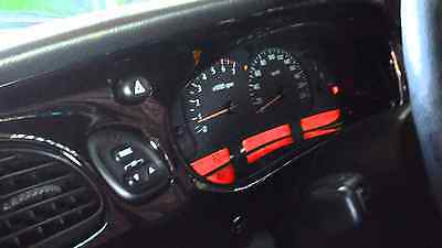 RED LED Dash Cluster LCD Kit Bulbs Commodore VT VX WH Berlina Calais Statesman