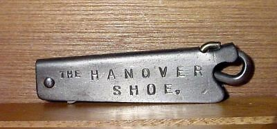 "Antique 1903 Primitive Folding ""The Hanover Shoe"" Button Hook Newark NJ"