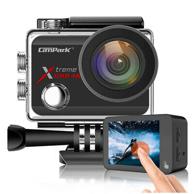 Campark Touchscreen Ultra FHD 4K Sports CAM WIFI Waterproof Action Camera 170°