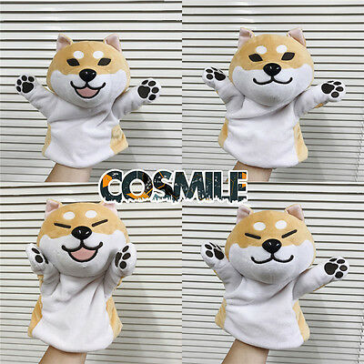 Shiba Inu Lovely Muco Itoshi no Muco Doge Dog Hand Puppet Doll Toy Glove Cosplay