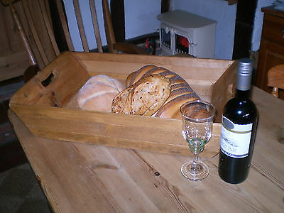 Vintage English Late Victorian Bakers Bread Tray,Antique Pine,Kitchenalia