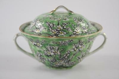 Antique Chinese Famille Rose Cantonese Hand Painted Lidded Bowl