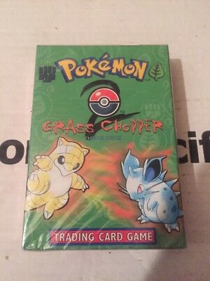 Pokemon Base Set 2 Grass Chopper Theme Deck