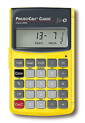Calculated Industries 8503 ProjectCalc Classic Home Improvement Calculator