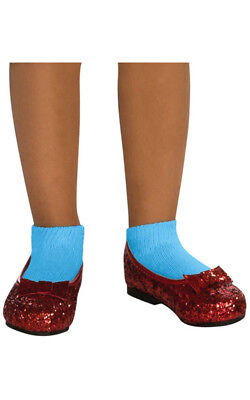 Licensed Dorothy Wizard Of Oz Sequin Ruby Red Slipper Shoes Costume Accessory
