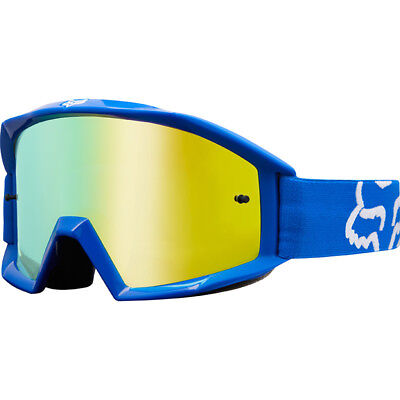 Fox Racing NEW Mx 2018 Main Race Blue Kids Youth Motocross Dirt Bike Goggles