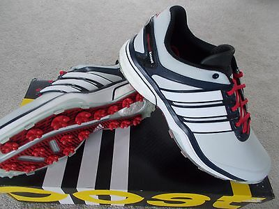 Mens Adidas Golf Shoes Trainer Style Adipower Boost Waterproof Uk 8 1/2 Eu42 2/3