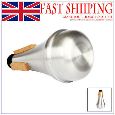 Aluminium Alloy Trumpet Mute Straight Practice Cup Mute Silencer Musical as07