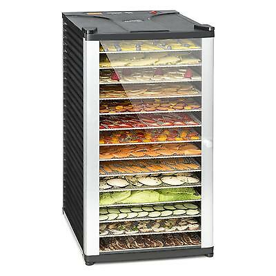 Commercial 14 Tier Tray Food Dehydrator Kitchen Restaurant Home Meat Fruits Dry