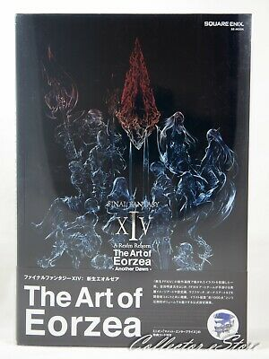 FINAL FANTASY XIV FF 14 The Art of Eorzea Another Dawn First Print EMS/DHL Japan