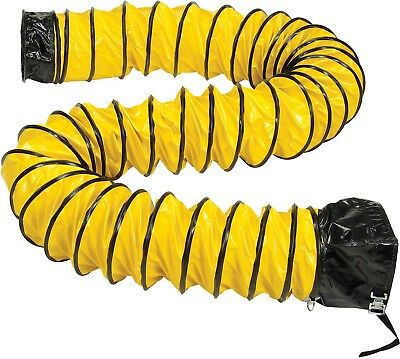 "Flame Retardant Flexible Duct Portable Blower Ventilator 32 Ft 12"" Diameter Fan"