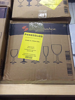 48 x Saxon Wine Glass 175ml Joblot Job Lot Glasses Bar Restaurant