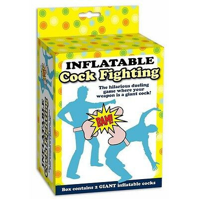 Inflatable Cock Fighting - 27468 Hilarious Duelling Game Blow Up Willies Fun