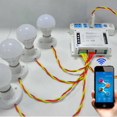 Sonoff Smart Module Socket Remote Control Home Automation Switch WiFi Wireless