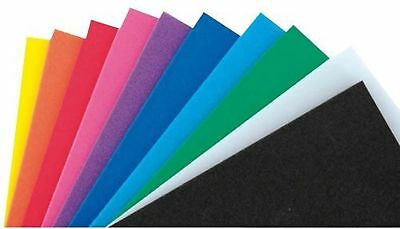 Multi-Coloured Foam 20 x 29 cm (Pack of 10 Sheets)