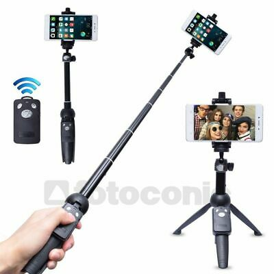 Yunteng YT-9928 3in1 Handheld Tripod Monopod Selfie Stick with Bluetooth Remote