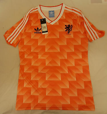 Holland 1988 soccer jersey size: Large