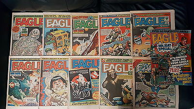 46x Eagle Comics 1982-1984 *Various Issues See Description*