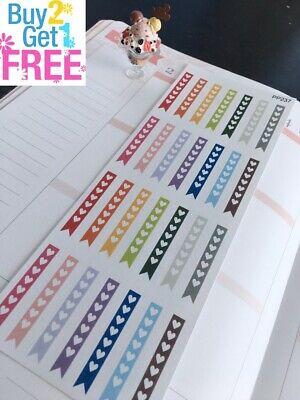 PP237 -- Slim Weekly Checklist Life Planner Stickers for Erin Condren (36pcs)