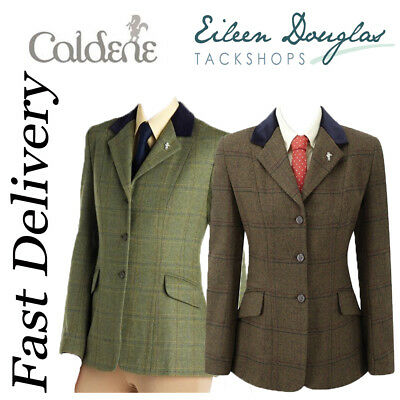 Caldene Silverdale Ladies Tweed Riding Competition Show Jacket