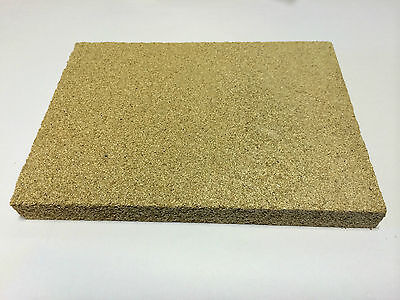 JEWELLERS HEAT PROOF SOLDERING BOARD SHEET BLOCK JEWELLERY MAKING 150x100x25mm