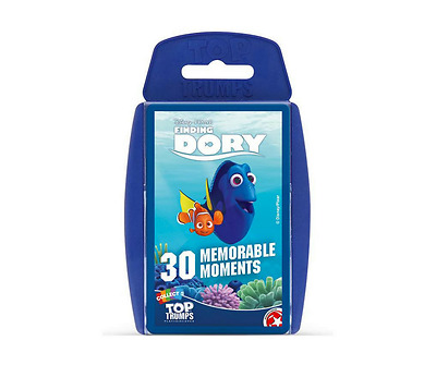 Finding Dory Top Trumps 30 Memorable Moments Card Game