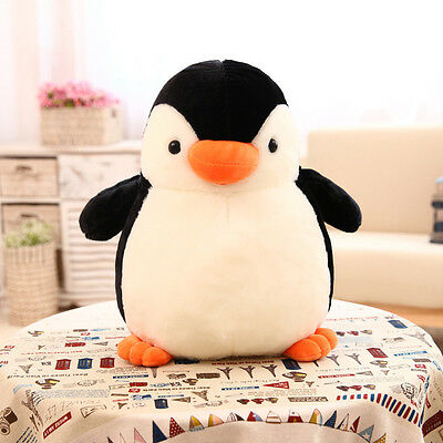 Stuffed Soft Animal Doll Pillow Cushion Gifts Cute Big Penguin Plush Toy 3 Sizes