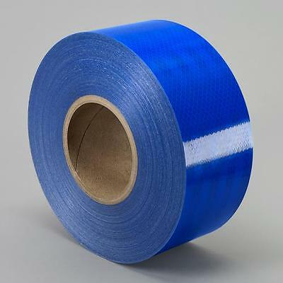"3M 3432 Engineer Grade Prismatic Reflective BLUE CONSPICUITY TAPE 1/2"" x 50 yd"