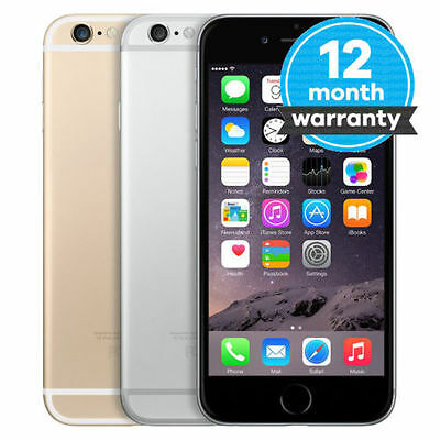 Factory Unlocked Apple iPhone 6 16GB 64G Dual Core 8.0MP WIFI GPS 4G Smartphone