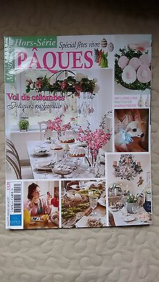 French Maison Chic Special Interior Magazine Apr 2017 Easter Jeanne d'Arc Living