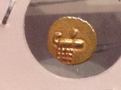 Gold Fanam. (India ca. 1675-1724). Cochin. Very Small historical gold coin. V37