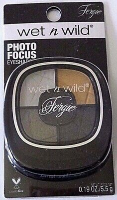 NEW Wet n Wild FERGIE Photo Focus Eyeshadow ~A031 Metropolitan Nights Gold Black