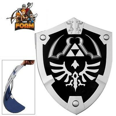 Dark Knight Master Legend of Zelda Foam Shield with Strap Link Hylian LARP