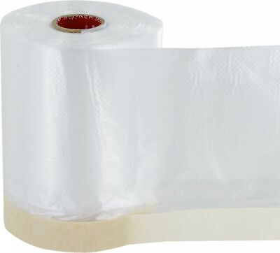 Masking Tape mask Film with Crepe Tarpaulin crepe Tape 2 Sizes selectable