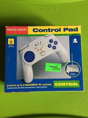 ROKENBOK System Motorized R/C Remote Control Pad Controller 04710 New