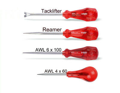 FELO, 4pcs. Set of Tack Lifter, Reamer, Awls or choose by individual item please