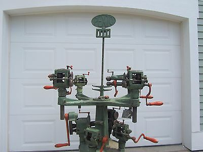 Peck Stow & Wilcox Pexto No. 969 Tool Holder Stand With 9 Tools Christmas Tree