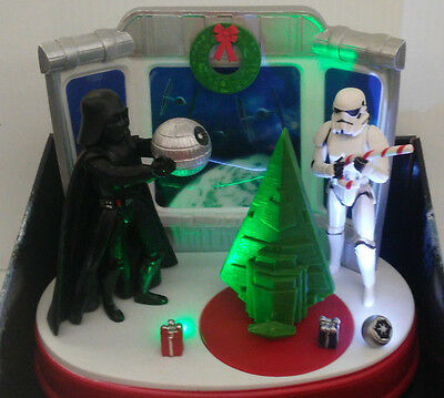 Star Wars Disney Christmas Music Animated Tabletop Decor