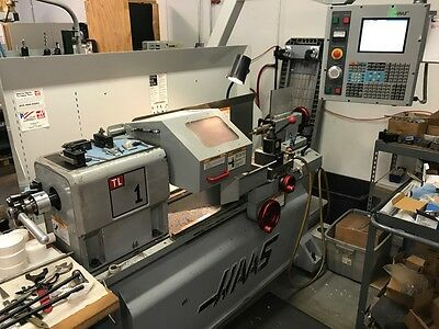 Used Haas TL-1 CNC Turning Center Manual Operation 5C Rigid Lathe Tailstock 2004