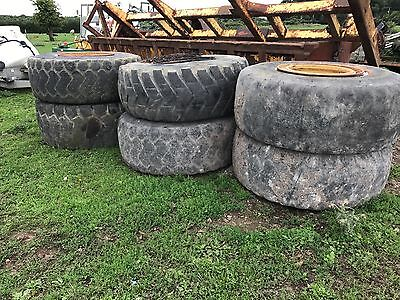 Wheels and tyres x6 23.5r25 dump truck loading shovel