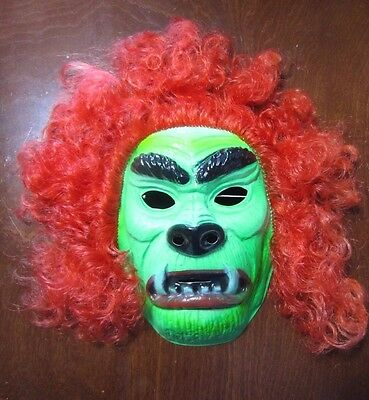 Vintage Ben Cooper Hairy Scary Halloween Mask Buy it NOW
