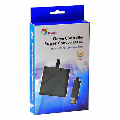 Brook Adapter for PS2 to PS3/PS4/PC Game Controller Super Converter USB