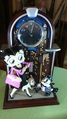 The Big City Betty Clock Danbury Mint 2004 King Features Syndicate Rare