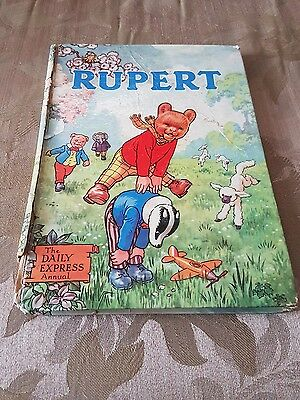 1958 Rupert the bear annual the daily express