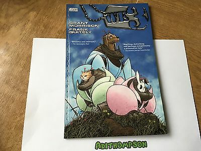 We3 Grant Morrison Frank Quitely Vertigo Graphic Novel Comic Book