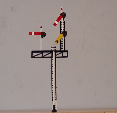 P&D Marsh OO Gauge Z354L GWR/BR Lhand junction signal PAINTED & finished