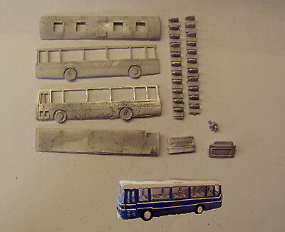P&D Marsh N Gauge n Scale E135 Plaxton Supreme coach kit requires painting
